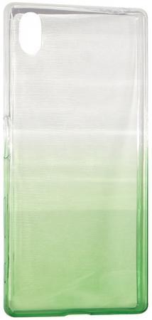 Крышка задняя IQ Format для Sony Xperia Z5 зеленый 4627104426480 iq format крышка задняя для lenovo s90 силикон