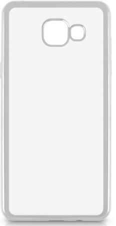 Чехол силиконовый DF sCase-23 с рамкой для Samsung Galaxy A5 2016 серебристый аксессуар чехол samsung galaxy a5 2016 df scase 23 rose gold