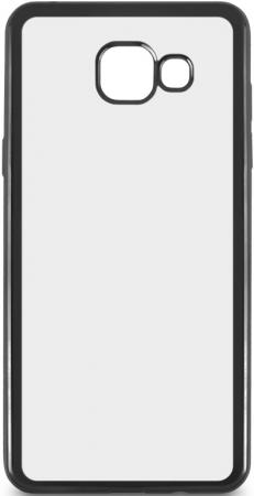 Чехол силиконовый DF sCase-24 с рамкой для Samsung Galaxy A7 2016 черный силиконовый чехол с рамкой для samsung galaxy j2 prime grand prime 2016 df scase 36 black