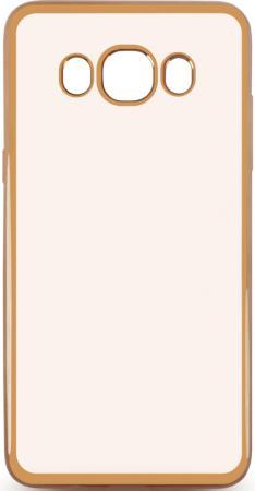 Чехол силиконовый DF sCase-30 с рамкой для Samsung Galaxy J7 2016 золотистый силиконовый чехол с рамкой для samsung galaxy a5 2016 df scase 23 silver