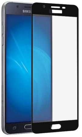 купить Закаленное стекло DF sColor-21 для Samsung Galaxy J7 2017 с рамкой черный онлайн
