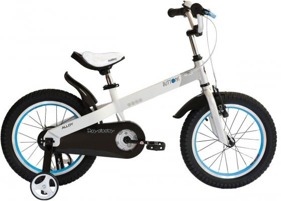 """Велосипед двухколёсный Royal baby Alloy Buttons Diy 14"""" 14"""" белый"""