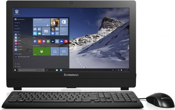 Моноблок 19.5 Lenovo IdeaCentre S200z 1600 x 900 Intel Pentium-J3710 4Gb 500Gb Intel HD Graphics 405 DOS черный 10HA001NRU lenovo ideacentre 200 01ibw core i3 5005u 4gb 500gb kb m dos white