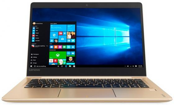 Ноутбук Lenovo IdeaPad 710S-Plus-13 13.3 1920x1080 Intel Core i5-6200U 256 Gb 8Gb nVidia GeForce GT 940MX 2048 Мб золотистый Windows 10 Home 80VU003WRK new original for lenovo air 13 710s ideapad 710s 13isk laptop replace case lcd bezel front cover 460 07d01 0002 460 07d09 0002