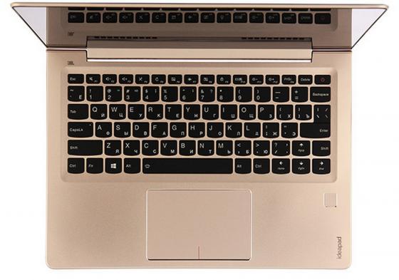 """Ноутбук Lenovo IdeaPad 710S-Plus-13 13.3"""" 1920x1080 Intel Core i5-6200U 256 Gb 8Gb nVidia GeForce GT 940MX 2048 Мб золотистый Windows 10 Home 80VU003WRK"""