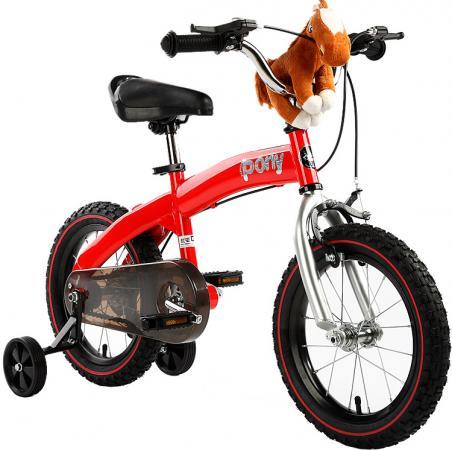 Велосипед двухколёсный Royal baby Pony (2 в 1) RB14B-4 14 красный