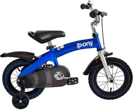 """Велосипед двухколёсный Royal baby Pony (2 в 1) RB14B-4 14"""" синий"""