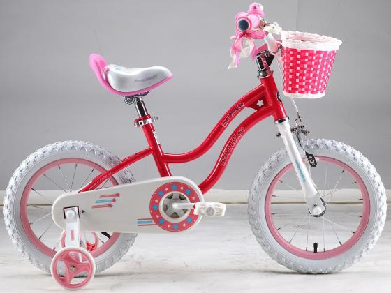 """Велосипед двухколёсный Royal baby Stargirl (6954351400436) 16"""" малиновый"""