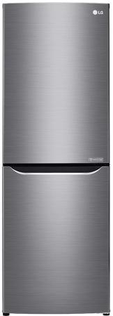 Холодильник LG GA-B389SMCZ серебристый холодильник lg ga b489yaqz серебристый
