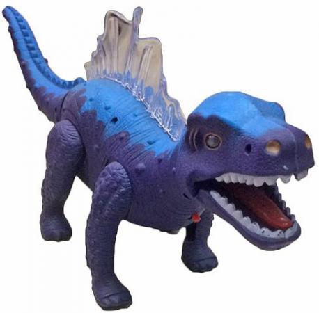 Интерактивная игрушка Shantou Gepai Динозавр (свет, звук) от 3 лет фиолетовый 635656 игрушка динозавр древний гигант 47см движение свет звук