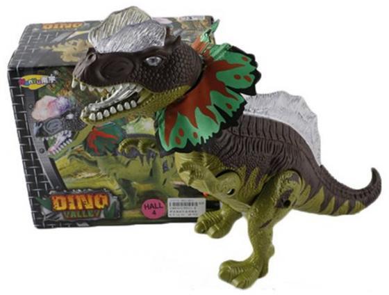 Интерактивная игрушка Shantou Gepai Dino Valley от 3 лет зелёный свет, звук, NY011-B игрушка shantou gepai домик 632804