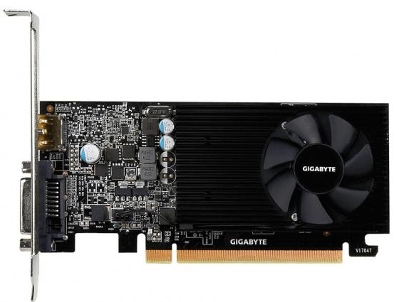 Видеокарта GigaByte GeForce GT 1030 GV-N1030D5-2GL PCI-E 2048Mb 64 Bit Retail gigabyte geforce gt 730