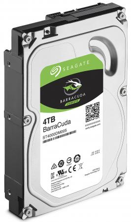 Жесткий диск 3.5 4 Tb 5400rpm 256Mb cache Seagate Barracuda SATA III 6 Gb/s ST4000DM004