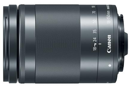 Объектив Canon EF-M IS STM 18-150мм f/3.5-6.3 черный 1375C005 цена и фото