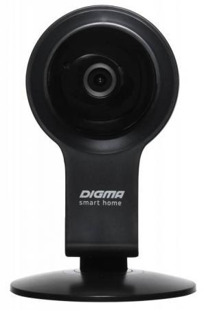Камера IP Digma DiVision 100 CMOS 2.8 мм 1280 x 720 H.264 Wi-Fi черный камеры видеонаблюдения digma видеокамера ip division 100 белый