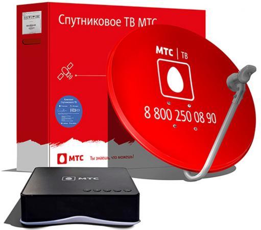 Комплект спутникового телевидения МТС 166 цена