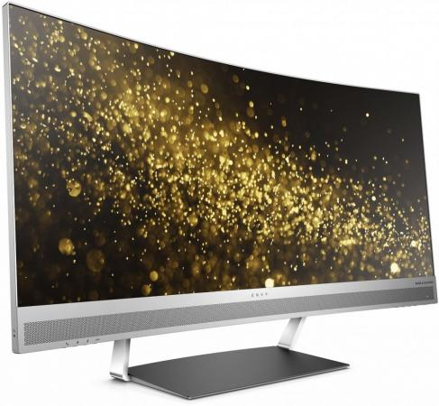 Монитор 34 HP Envy 34 серебристый VA 3440x1440 300 cd/m^2 6 ms HDMI DisplayPort Аудио USB компьютерные аксессуары for hp hp envy 6 envy6 692382 001 am0ql000900 for envy6