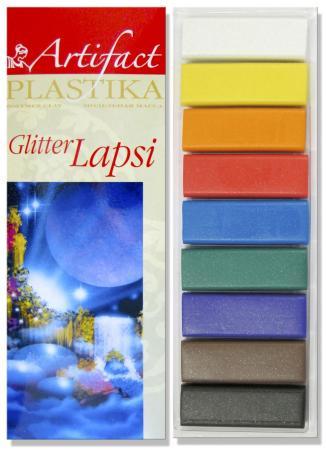 Полимерная глина Artifact 7109-78 9 цветов самозастывающая полимерная глина минск