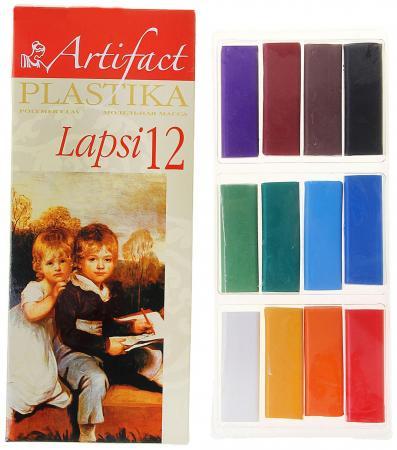 Полимерная глина Artifact 7112-8 12 цветов полимерная глина artifact 7507 38 7 цветов