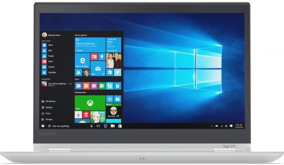 ThinkPad YOGA 370 13,3 TOUCH FHD(1920x1080)IPS, i5-7200U(2,5 GHz),4GB DDR4, 128Gb SSD,HD Graphics 620,NoODD,WiFi,BT,FPR,4cell,WWANnone,pen, Win 10 PRO,1.37Kg,Silver, 1y.c.i. сенсорная панель ugee ug2150 digital 21 5inch ips hd pen touch display tablet monitor ug 2150