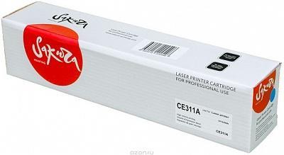 Картридж Sakura CE311A для HP LaserJet Pro CP1025/CP1025NW голубой 1000стр