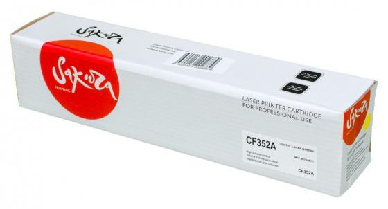 Картридж Sakura CF352A для HP MFP M176/M177 желтый 1000стр
