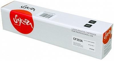 Картридж Sakura CF353A для HP MFP M176/M177 пурпурный 1000стр