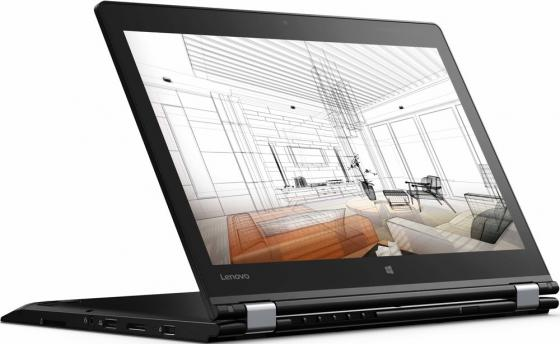 Ноутбук Lenovo ThinkPad P40 Yoga 14 1920x1080 Intel Core i7-6500U 512 Gb 16Gb 3G 4G LTE nVidia Quadro M5000M 2048 Мб черный Windows 10 Professional 20GQ001SRT смартфон lenovo vibe c2 power 16gb k10a40 black