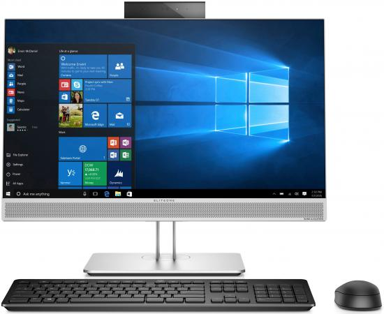 "Моноблок 23.8"" HP EliteOne 800 G3 All-in-One 1920 x 1080 Intel Core i5-7500 4Gb 500 Gb Intel HD Graphics 630 Windows 10 Professional черный серебристый 1KA70EA"