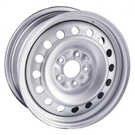 Диск Trebl X40010 6.5xR16 5x112 мм ET39.5 Silver штампованный диск trebl u4038d 6x15 5x100 d57 1 et38 black