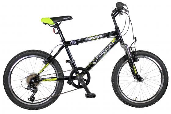 """Велосипед двухколёсный Top Gear Parcours 210 ВН20063 20"""" черно-желтый цена"""