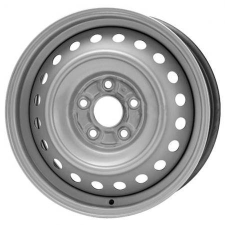 Диск Trebl 9987 7xR17 5x114.3 мм ET39 Silver штампованный диск trebl u4038d 6x15 5x100 d57 1 et38 black