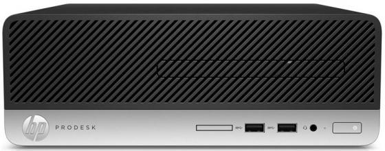 Системный блок HP ProDesk 400 G4 SFF G4400T 2.9GHz 4Gb 500Gb DVD-RW Win7Pro Win10Pro клавиатура мышь 1QN16ES системный блок lenovo s200 mt j3710 4gb 500gb dvd rw dos клавиатура мышь черный 10hq001fru