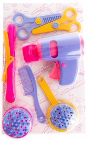 Игровой набор Пластмастер Красотка 7 предметов 22220 пластмастер игровой набор строймаркет цвет синий белый