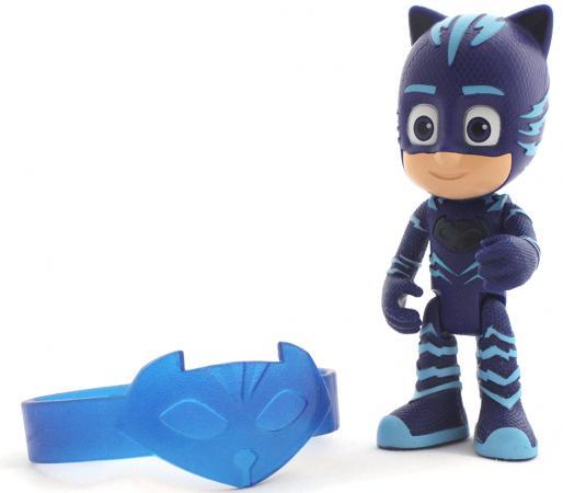 Фигурка Росмэн PJ Masks Герои в масках - Кэтбой (свет), браслет 8 см фигурки игрушки pj masks фигурка кэтбой тм герои в масках 8 см
