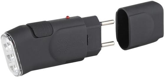 Фонарь ручной Эра SDA10M чёрный фонарь ручной эра купер mb 505 б0030198 черный светодиодный 3 вт