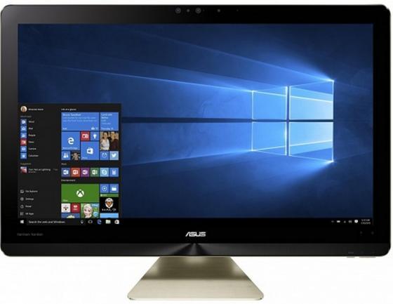 Моноблок 23.8 ASUS Zen AiO Pro Z240IEGK-GA035T 1920 x 1080 Intel Core i5-7400T 8Gb 1 Tb nVidia GeForce GTX 1050 4096 Мб Windows 10 Home золотистый 90PT01T1-M00960 моноблок asus zn220icgk ra040t 90pt01n1 m03090 90pt01n1 m03090
