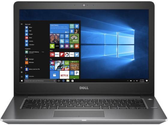 Ноутбук DELL Vostro 5468 14 1366x768 Intel Core i5-7200U 1 Tb 4Gb nVidia GeForce GTX 940MX 2048 Мб серый Windows 10 Home 5468-1090 ноутбук dell vostro 5468 5468 1090 5468 1090