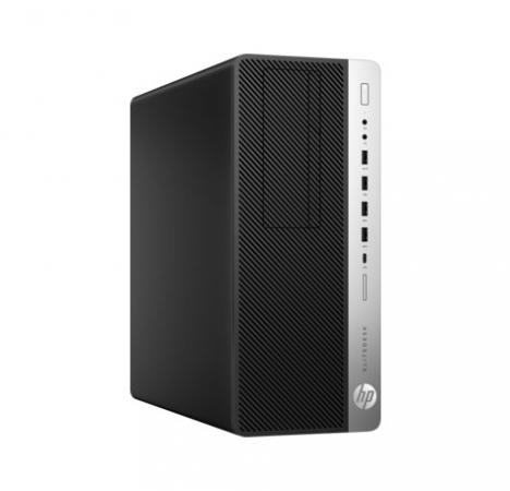 Системный блок HP EliteDesk 800 G3 i5-7500 3.4GHz 8Gb 256Gb SSD HD630 DVD-RW Win10Pro клавиатура мышь серебристо-черный 1FU45AW системный блок hp z440 e5 1620v4 3 5ghz 16gb 256gb ssd dvd rw win10pro клавиатура мышь черный y3y38ea