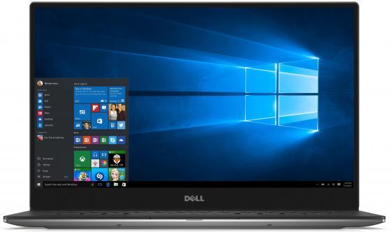 "Ультрабук DELL XPS 13 13.3"" 3200x1800 Intel Core M7-7Y75 512 Gb 16Gb Intel HD Graphics 615 серебристый Windows 10 Home"