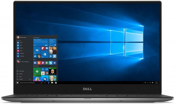 "Ультрабук DELL XPS 13 13.3"" 3200x1800 Intel Core M5-7Y54 256 Gb 8Gb Intel HD Graphics 615 серебристый Windows 10 Home ноутбук dell xps 13 13 3 1920x1080 intel core i7 6560u ssd 256 8gb intel iris graphics 540 серебристый windows 10 home 9350 2082"