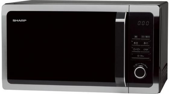 Микроволновая печь Sharp R7852RK 900 Вт чёрный