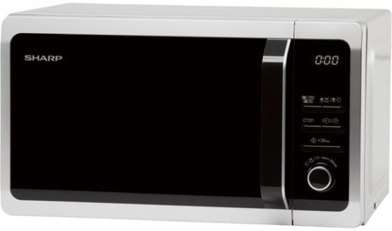 Микроволновая печь Sharp R-7852RSL 900 Вт серебристый чёрный