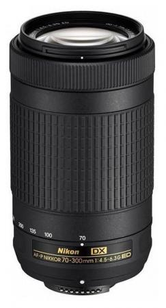 Объектив Nikon AF-P DX 70-300мм f/4.5-6.3G ED JAA828DA объектив sigma nikon af 30 mm f 1 4 dc hsm art
