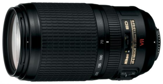Объектив Nikon AF-P VR ED 70-300мм f/4.5-6.3 JAA829DA free shipping new and original for niko lens af s nikkor 70 200mm f 2 8g ed vr 70 200 protector ring unit 1c999 172