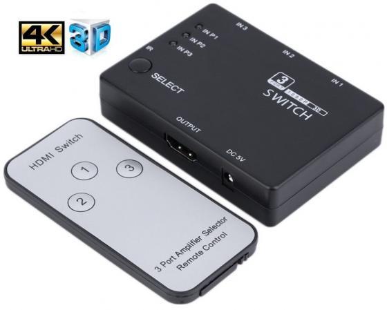 лучшая цена Разветвитель HDMI Orient HS0301H 30372