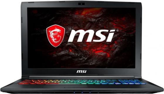 Ноутбук MSI GP62M 7REX-1281RU Leopard Pro 15.6 1920x1080 Intel Core i7-7700HQ 1 Tb 8Gb nVidia GeForce GTX 1050Ti 4096 Мб черный Windows 10 Home 9S7-16J9B2-1281 ноутбук msi gp62m 7rex 1281ru leopard pro intel core i7 7700hq 2800 mhz 15 6 1920х1080 8192mb 1000gb hdd dvd нет nvidia geforce gtx 1050 ti wifi windows 10 x64