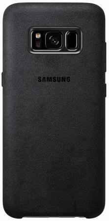 Чехол Samsung EF-XG955ASEGRU для Samsung Galaxy S8+ Alcantara Cover серый чехол для сотового телефона samsung galaxy note 8 alcantara blue ef xn950ajegru