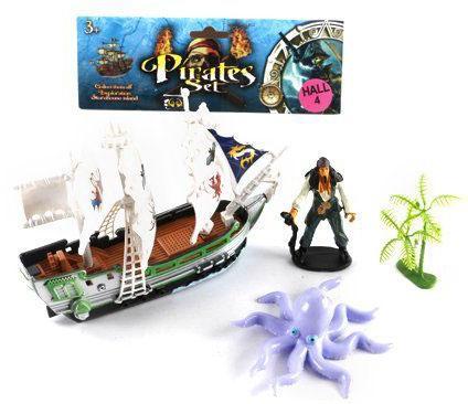Игровой набор Shantou Gepai Пираты 15998-1 игровой набор для ванны tomy пиратский корабль