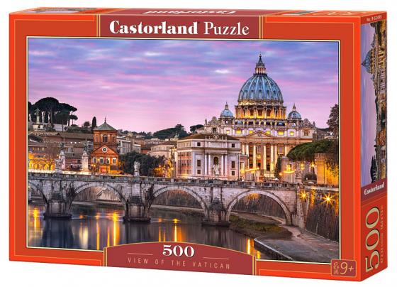 Пазл 500 элементов Кастор Ватикан  B-52493 пазл 500 элементов кастор бруклинский мост
